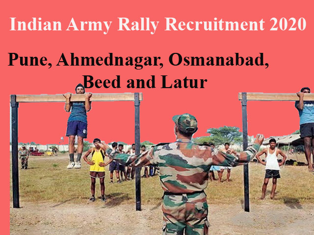 Latur army rally bharti 2020